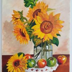 Sunflowers & Apples