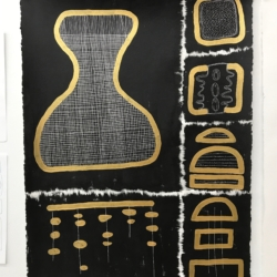 Glyph II – Gold on Black
